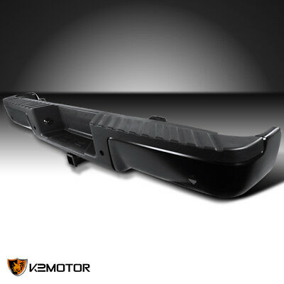 09-14 Ford F150 Styleside Pickup Black Tow Hitch Rear Bumper Step+Sensor Hole for sale  Shipping to Canada