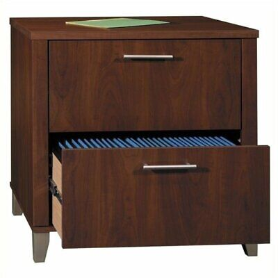 Bowery Hill 2 Drawer Lateral File Cabinet In Hansen Cherry