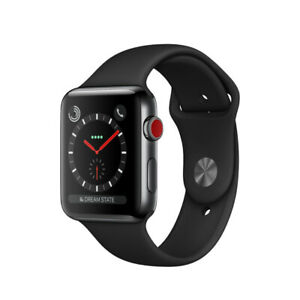 Apple Watch série 3 stainless steel gps cellulaire