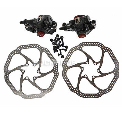 AVID BB7 Bike Mechanical Disc Brake Front and Rear Caliper with 160mm HS1 Rotor