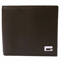 Dark Brown WALLET with a G on it
