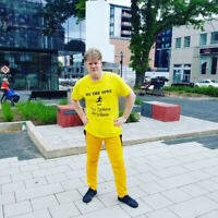 Join the Fellow in Yellow. Join the movement
