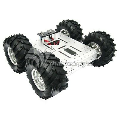4wd Car Aluminum Mobile Robot Platform Educational Car Chassis Robot Vehicles