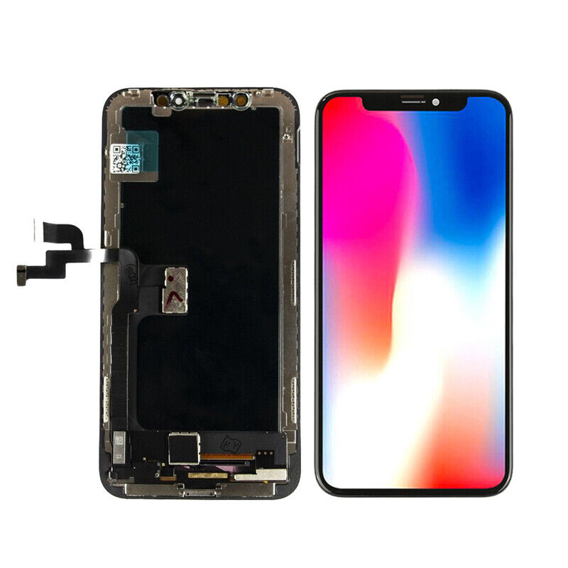 """For iPhone X 5.8"""" LCD Display Touch Screen Digitizer Assembly Replacement Black"""