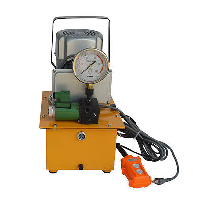 Dbd750-d1 High Pressure Electric Driven Hydraulic Pump10000 Psi Manual Valve
