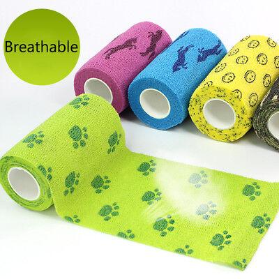 A First Aid Health Care Treatment Self Stick Adhesive Elastic Bandage Gauze Tape