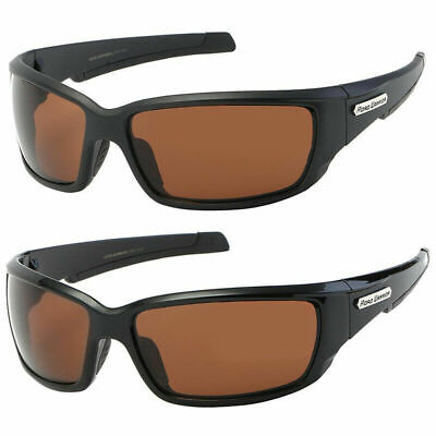 New Hd Driving Vision Sport Wrap Sunglasses Amber High Definition Glasses