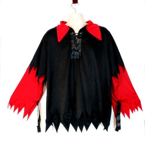 Rubies Mens Pirate Top Halloween Costume Cosplay XL String Ties Wrist Straps