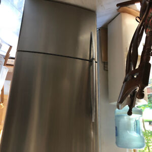 Fisher Paykel quiet counter depth stainless fridge