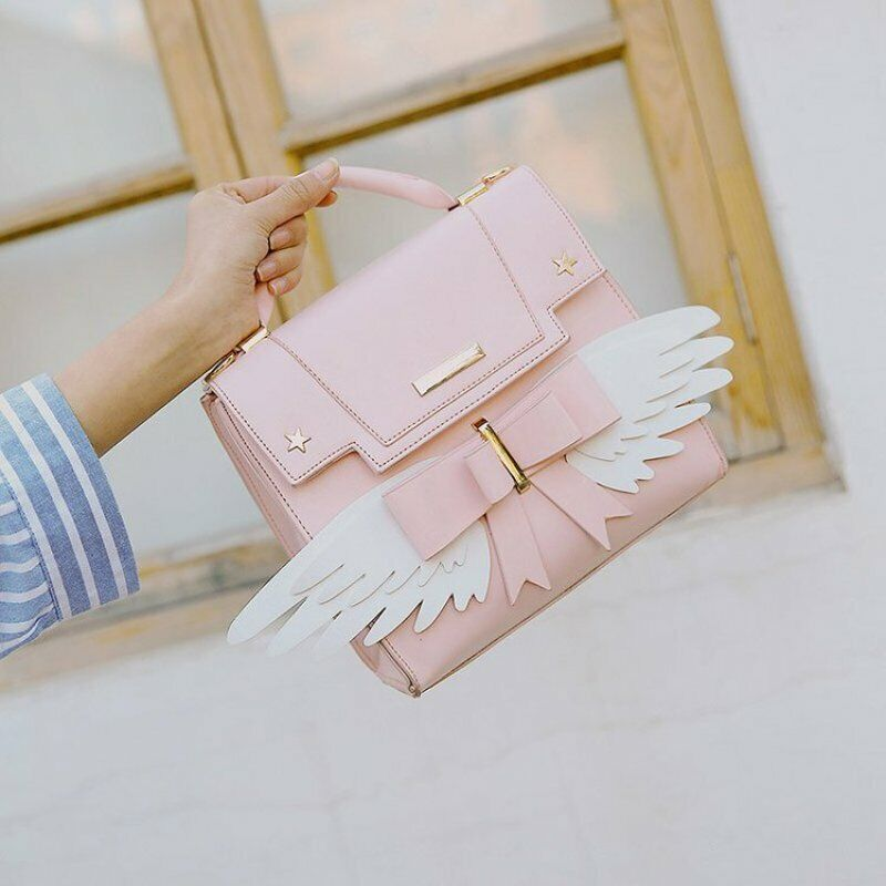 Handbag Cute Pink Soft Girl Shoulder Crossbody Bag Clothing, Shoes & Accessories