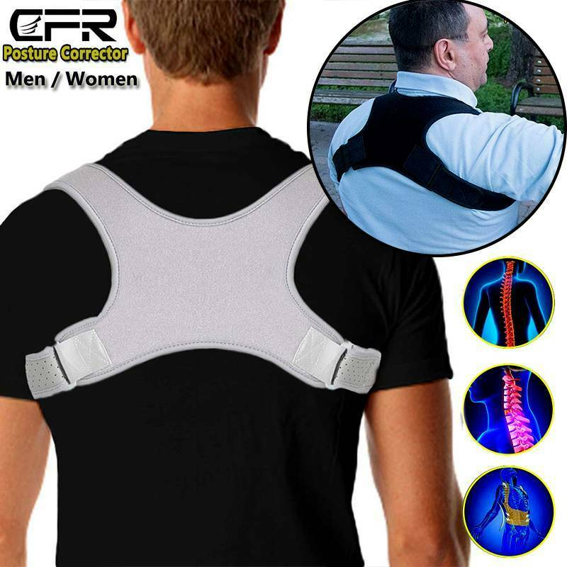 Posture Corrector Men Women Bad Back Brace Clavicle Support