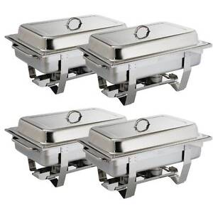 Chafing Dish Four Pack - Catering Equipment Campbellfield Hume Area Preview