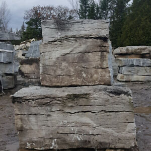 Armour stone Weathered Edge Limestone why pay stone yard prices