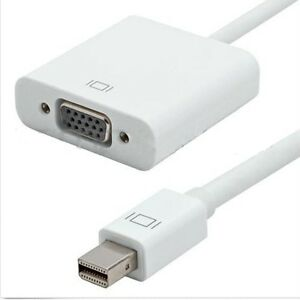Mini DisplayPort DP To VGA Adapter Cable For Apple MacBook.