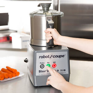 Robot Coupe Blixer 3 Food Processor with 3.5 Qt. Stainless Steel