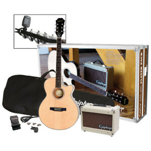 Epiphone Acoustic/Electric Guitar Player Pack