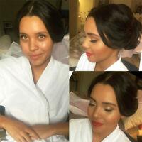 Maquillage et coiffure à domicile