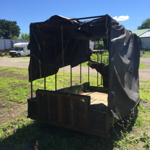 UTILITY TRAILER WITH RAMPS 600$