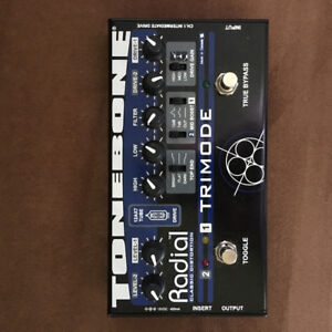 Radial tonebone trimode distortion pedal