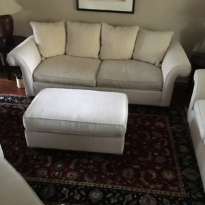 Fabric Couch Set - 4 Piece Very Comfortable