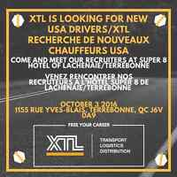 PORTES OUVERTES/JOB FAIR:CHAUFFEURS US CLASSE1/CLASS1 US DRIVER