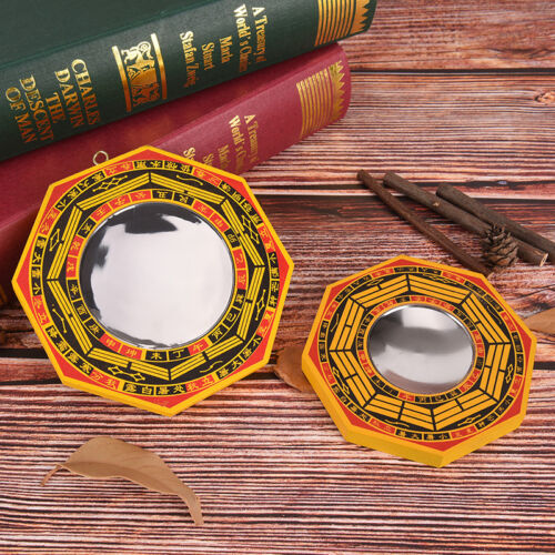 4 Inch Chinese Dent Convex Bagua Mirror Blessing House Protection P0 PX - $8.31
