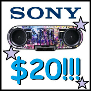 SONY Docking Station (Older APPLE iPods + iPhones) --- $20 ONLY!