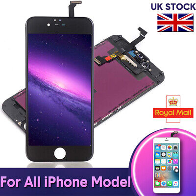 LCD Digitizer For iPhone 5 6 6s 7 8 Plus Screen Replacement Touch Display Camera