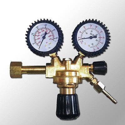 Druckminderer CO2 /Argon MIG MAG WIG Schutzgas Schweiß Gas Druckregler Manometer