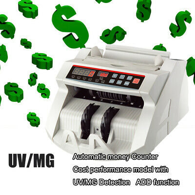 Uv Mg Counterfeit Bill Money Counter Multi Currency Cash Counting Machine