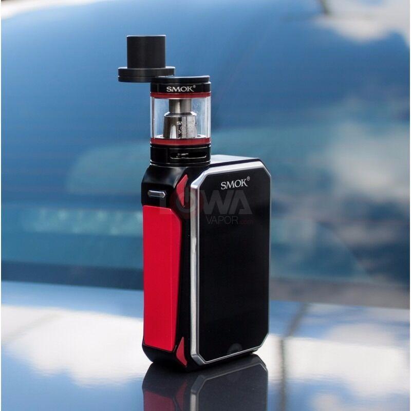 Smoke G Priv Vape E-Cig. Brand New With 3000mah Batteries. Red&Black