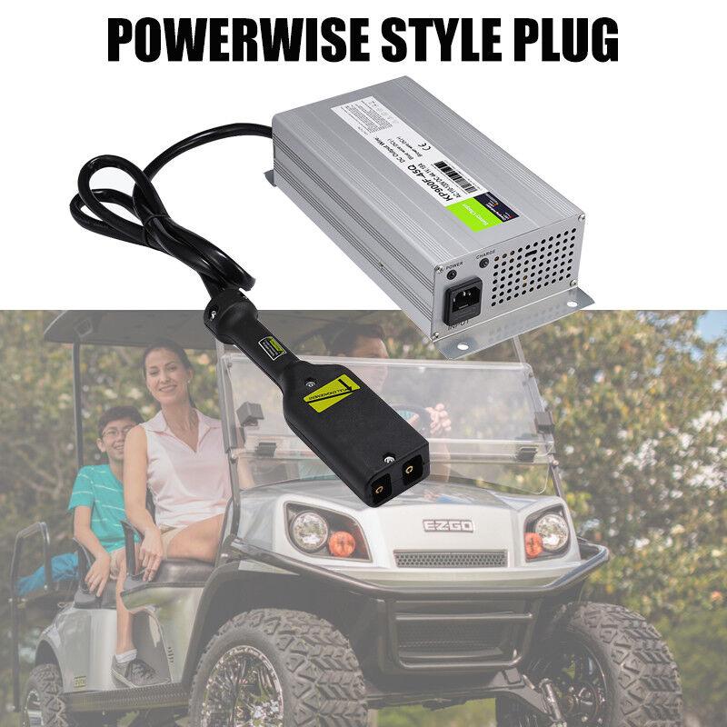 36Volt 18Amp Golf Cart Battery Charger + Plug For EzGo Club Car TXT Yamaha