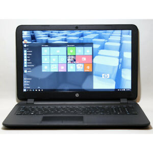 HP Pavilion 15-f240ca Laptop AMD HDMI Webcam WiFi 4GB RAM 320GB