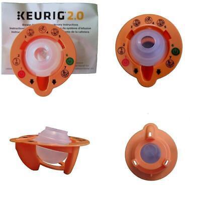 Keurig 4335457458 2.0 Needle Cleaning Tool,  Orange