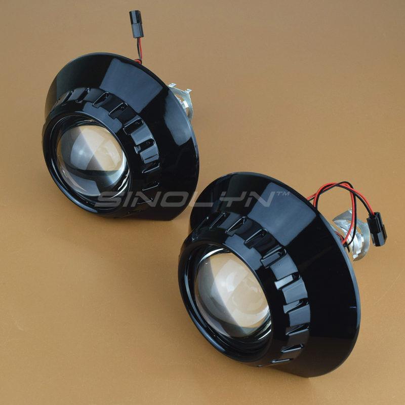 For ZKW E46 M3 Headlight Mini 2 5 lsquo rsquo MH1 Black HID Bi xenon