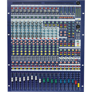 Midas Venice F16R Analogue Mixing Board with Firewire