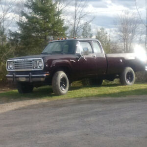 1977 Dodge Club Cab, 4X4 for sale