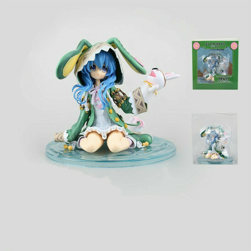 Date A Live Yoshino Hermit Figure Anime 1//7 Scale Kneeling PVC Model Toy In Box