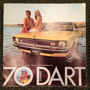 1970 Dodge Dart brochure