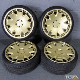 "18"" Ispiri CSR2 Alloy Wheels for an Audi A4, A3 MK2 MK3 VW Jetta, Golf MK5, MK6, MK7, Caddy"