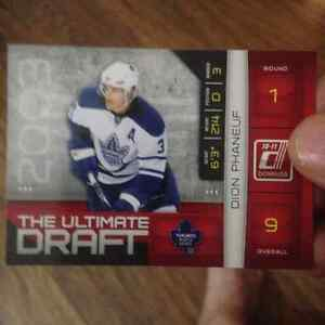 dion phaneuf the ultimate draft card