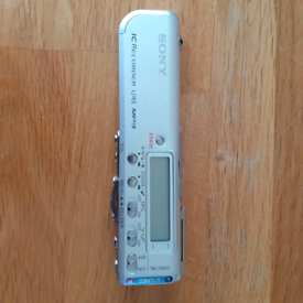 Sony MP3 digital voice recorder
