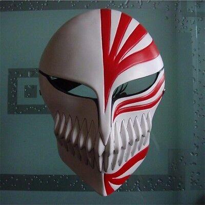 High Quality-Bleach Ichigo Kurosaki Full Hollow Mask Halloween Cosplay Prop