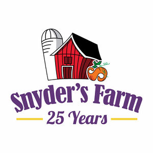 Hiring various positions at Snyder's Farm