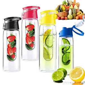 800ML-Deportivo-Fruta-Infusion-Agua-Limon-Juice-Health-Botella-Tapa-Abatible