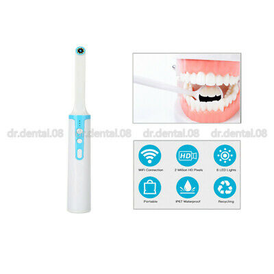 Oral Dental Intraoral Camera Hd 720p Ip67 Wifi Endoscope Teeth Mirror Wireless