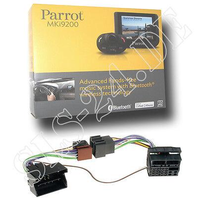 Parrot MKi9200 Bluetooth Freisprechanlage + BMW FSE Adapter 1er 3er 5er 6er ab01 Parrot Mki9200 Bluetooth