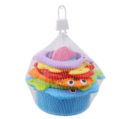 Baby Bath Bathtub Stacking Cups Toddlers Toy Early Education