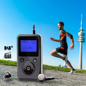 Personal portable Pocket DAB / DAB+ Digital FM Radio Receiver MP3 Player Sports