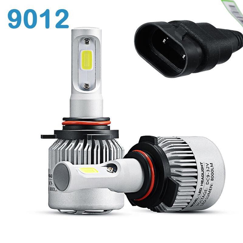 KIT 2 LAMPADE LED MODELLO HIR2 - 9012 - 72W 8000 LM PER AUTO
